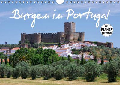 Burgen in Portugal (Wandkalender 2019 DIN A4 quer), LianeM