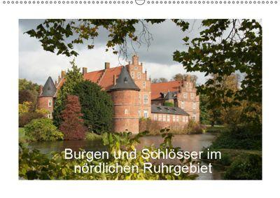 Burgen und Schlösser im nördlichen Ruhrgebiet (Wandkalender 2019 DIN A2 quer), Emscherpirat