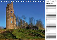 Burgen und Schlösser im Saarland (Tischkalender 2019 DIN A5 quer) - Produktdetailbild 1