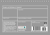 Burgen und Schlösser im Saarland (Tischkalender 2019 DIN A5 quer) - Produktdetailbild 13