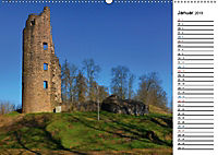 Burgen und Schlösser im Saarland (Wandkalender 2019 DIN A2 quer) - Produktdetailbild 1