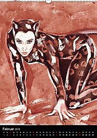 Burlesque Love Cats Katzen (Wandkalender 2019 DIN A3 hoch) - Produktdetailbild 2