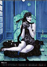 Burlesque Love Cats Katzen (Wandkalender 2019 DIN A3 hoch) - Produktdetailbild 5