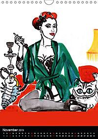 Burlesque Love Cats Katzen (Wandkalender 2019 DIN A4 hoch) - Produktdetailbild 11