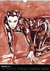 Burlesque Love Cats Katzen (Wandkalender 2019 DIN A4 hoch) - Produktdetailbild 2