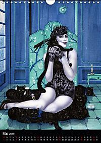 Burlesque Love Cats Katzen (Wandkalender 2019 DIN A4 hoch) - Produktdetailbild 5