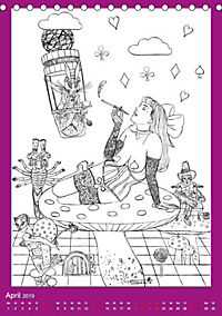 Burlesque Malkalender, Malbuch / burlesque coloring book mit Bildern von Sara Horwath (Tischkalender 2019 DIN A5 hoch) - Produktdetailbild 12