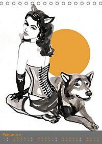Burlesque Tierchen, pets & Kuscheltiere (Tischkalender 2019 DIN A5 hoch) - Produktdetailbild 2