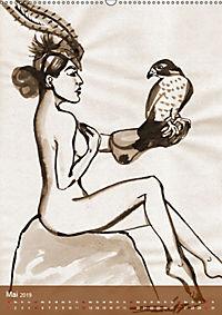 Burlesque Tierchen, pets & Kuscheltiere (Wandkalender 2019 DIN A2 hoch) - Produktdetailbild 5