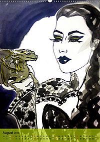 Burlesque Tierchen, pets & Kuscheltiere (Wandkalender 2019 DIN A2 hoch) - Produktdetailbild 8