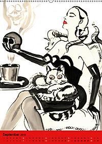 Burlesque Tierchen, pets & Kuscheltiere (Wandkalender 2019 DIN A2 hoch) - Produktdetailbild 9