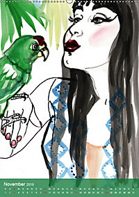 Burlesque Tierchen, pets & Kuscheltiere (Wandkalender 2019 DIN A2 hoch) - Produktdetailbild 11