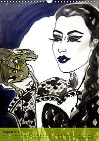 Burlesque Tierchen, pets & Kuscheltiere (Wandkalender 2019 DIN A3 hoch) - Produktdetailbild 8