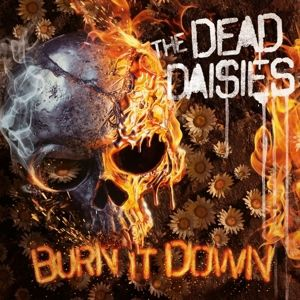 Burn It Down (CD + LP, rotes Vinyl mit schwarzen Schlieren), The Dead Daisies