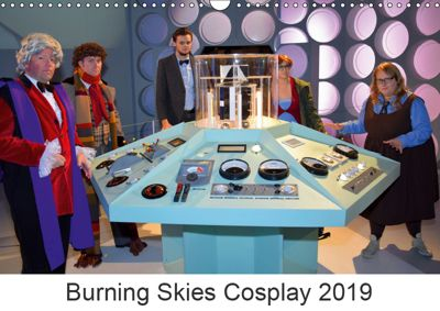 Burning Skies Cosplay 2019 (Wall Calendar 2019 DIN A3 Landscape), Burning Skies Cosplay