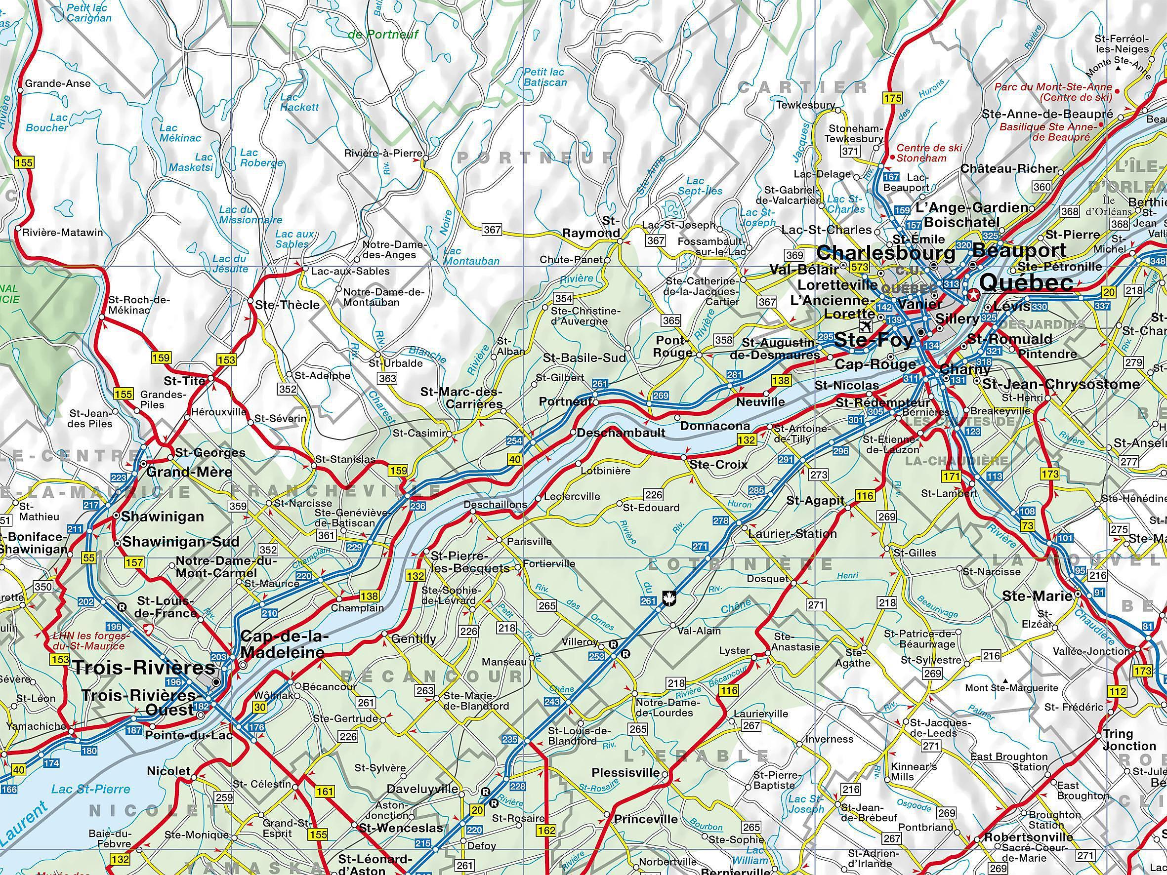 Busche Map Canada Québec Buch bei Weltbild.ch online bestellen on