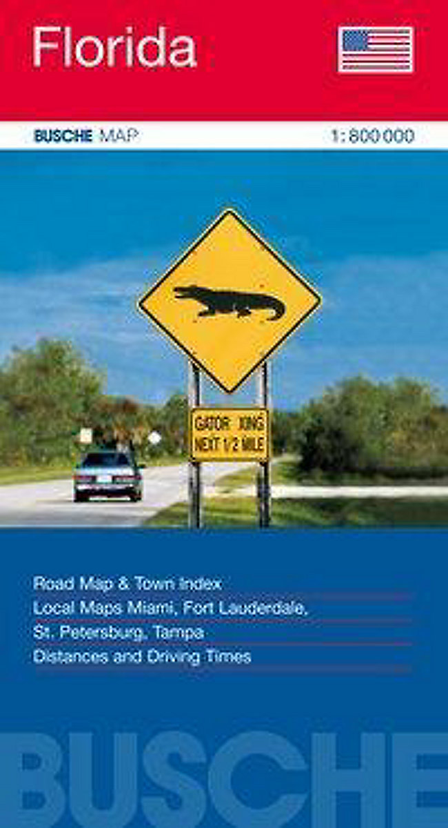 Busche Map Florida Buch jetzt bei Weltbild.ch online bestellen