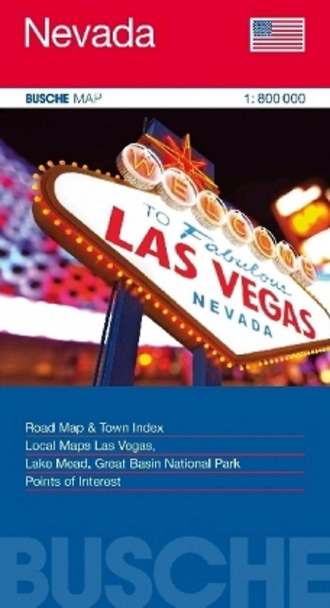 Busche Map USA Nevada Buch jetzt bei Weltbild.ch online bestellen