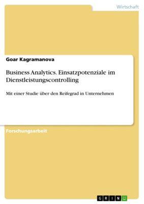 Business Analytics. Einsatzpotenziale im Dienstleistungscontrolling, Goar Kagramanova