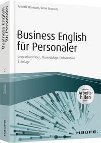 Business English für Personaler inkl. Arbeitshilfen online & Zugang Sprachportal, Annette Bosewitz, René Bosewitz