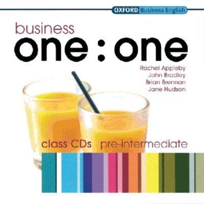 Business one:one: Pre-Intermediate, Class Audio-CDs