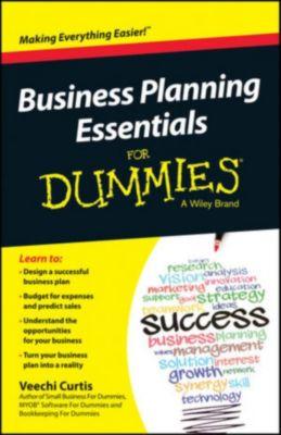 Business Planning Essentials For Dummies, Veechi Curtis