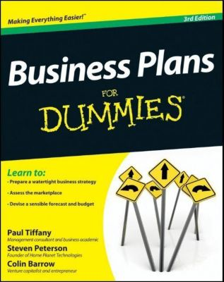 Business Plans For Dummies, Paul Tiffany, Steven D. Peterson, Colin Barrow