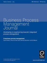 Business Process Management Journal: Business Process Management Journal, Volume 10, Issue 1