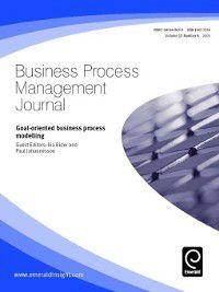 Business Process Management Journal: Business Process Management Journal, Volume 11, Issue 6