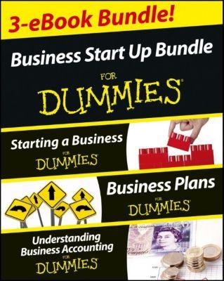 Business Start Up For Dummies Three e-book Bundle, Colin Barrow