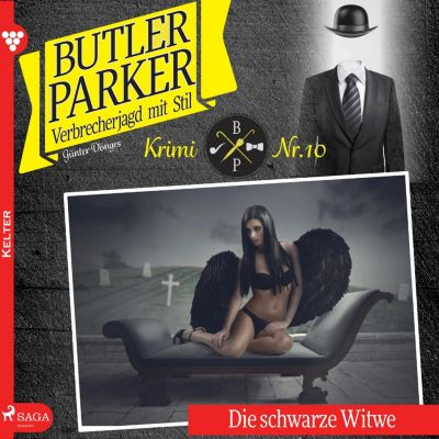Butler Parker: Butler Parker, 10: Die schwarze Witwe (Ungekürzt), Günter Dönges