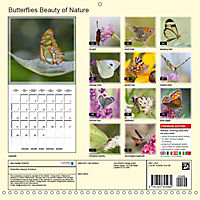 Butterflies Beauty of Nature (Wall Calendar 2019 300 × 300 mm Square) - Produktdetailbild 13