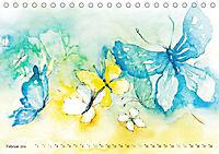 BUTTERFLY - flying high, Schmetterlinge (Tischkalender 2019 DIN A5 quer) - Produktdetailbild 2