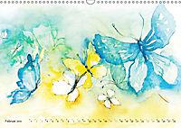 BUTTERFLY - flying high, Schmetterlinge (Wandkalender 2019 DIN A3 quer) - Produktdetailbild 2