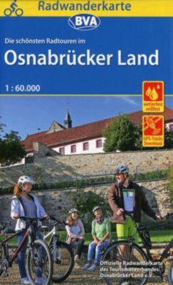BVA Radwanderkarte Radwandern im Osnabrücker Land 1:60.000