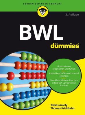 BWL für Dummies, Tobias Amely, Thomas Krickhahn