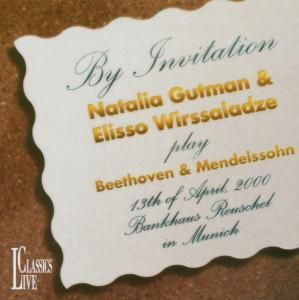 By Invitation, Natalia Gutman, Elisso Wirssaladze