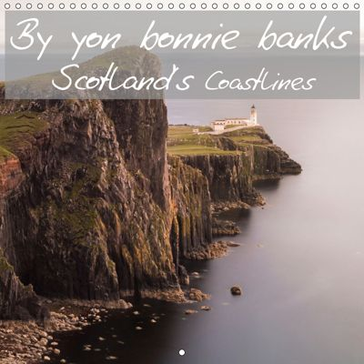 By yon bonnie banks Scotland's Coastlines (Wall Calendar 2019 300 × 300 mm Square), Markus Limmer