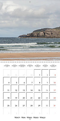 By yon bonnie banks Scotland's Coastlines (Wall Calendar 2019 300 × 300 mm Square) - Produktdetailbild 3