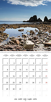 By yon bonnie banks Scotland's Coastlines (Wall Calendar 2019 300 × 300 mm Square) - Produktdetailbild 7