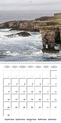By yon bonnie banks Scotland's Coastlines (Wall Calendar 2019 300 × 300 mm Square) - Produktdetailbild 9