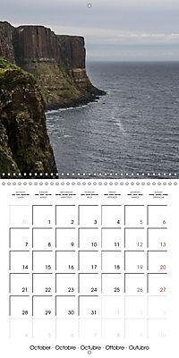 By yon bonnie banks Scotland's Coastlines (Wall Calendar 2019 300 × 300 mm Square) - Produktdetailbild 10