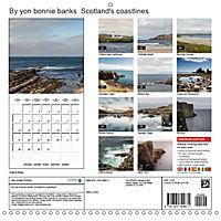 By yon bonnie banks Scotland's Coastlines (Wall Calendar 2019 300 × 300 mm Square) - Produktdetailbild 13