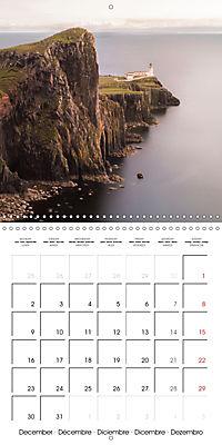 By yon bonnie banks Scotland's Coastlines (Wall Calendar 2019 300 × 300 mm Square) - Produktdetailbild 12