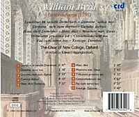Byrd: Cantiones Sacrae (1591) - Produktdetailbild 1