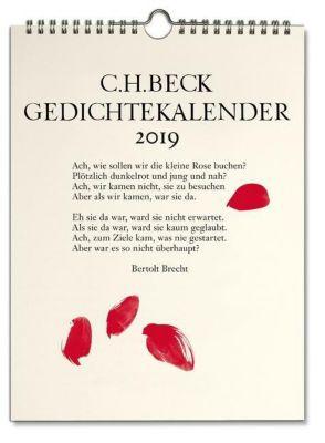 C.H. Beck Gedichtekalender Kleiner Bruder 2019