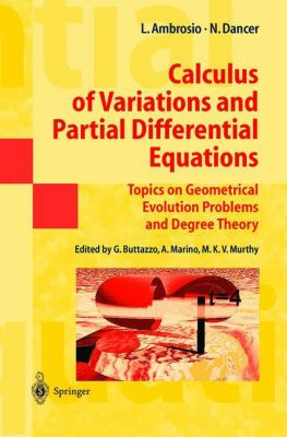 Calculus of Variations and Partial Differential Equations, Luigi Ambrosio, Norman Dancer