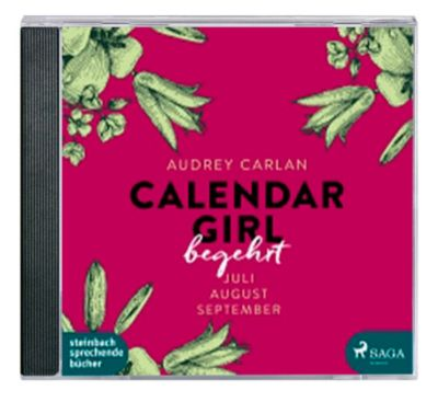 Calendar Girl - Begehrt, MP3-CD, Audrey Carlan