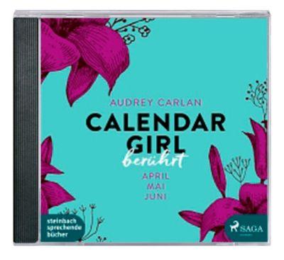Calendar Girl - Berührt, MP3-CD, Audrey Carlan