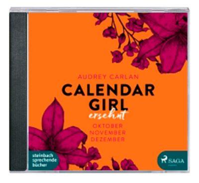 Calendar Girl - Ersehnt, MP3-CD, Audrey Carlan